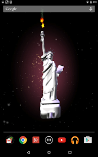 3DStatueOfLibertyLivewallpaper - screenshot