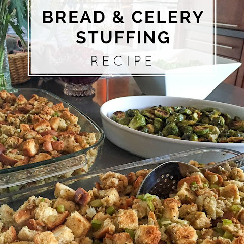 Easy Bread and Celery Stuffing