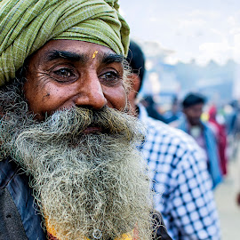 An Old Man... by Debojit Gurey - People Portraits of Men