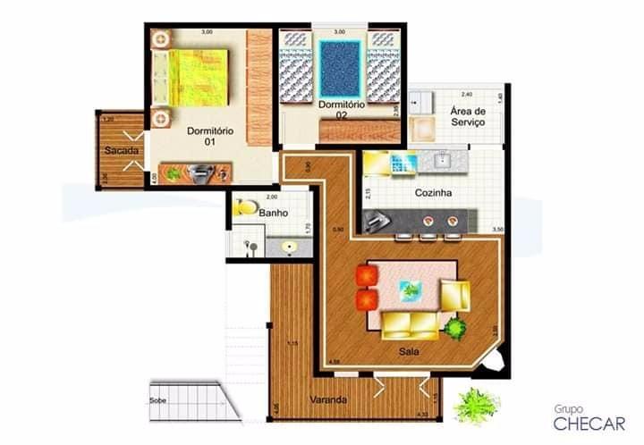 Apartamento com 2 dormitórios à venda, 72 m² por R$ 260.000 - CONDOMÍNIO NA REPRESA, Sete Pontes - Bragança Paulista/SP