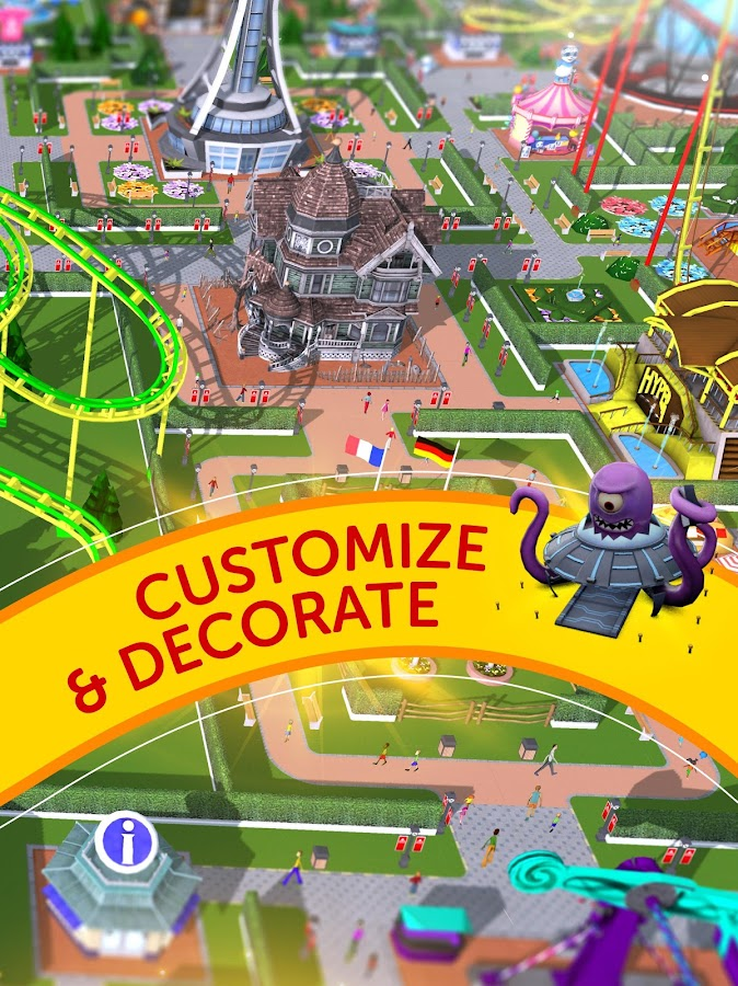 RollerCoaster Tycoon Touch Screenshot 14