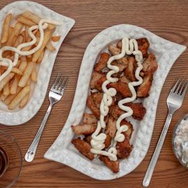 Chicken by Ercan Kuru - Food & Drink Plated Food ( foodphotography, foodporn, foodie, food52, food )