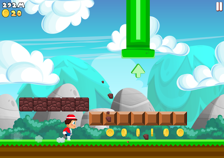 Super Plumber Run Screenshot