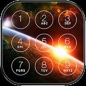 Space Galaxy Lock Screen APK for Bluestacks