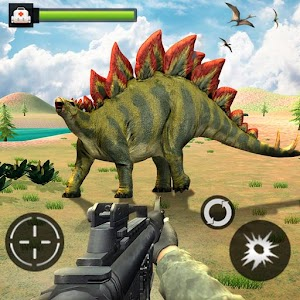 Download Forest Dinosaurs Sniper Safari Hunting Game For PC Windows and Mac