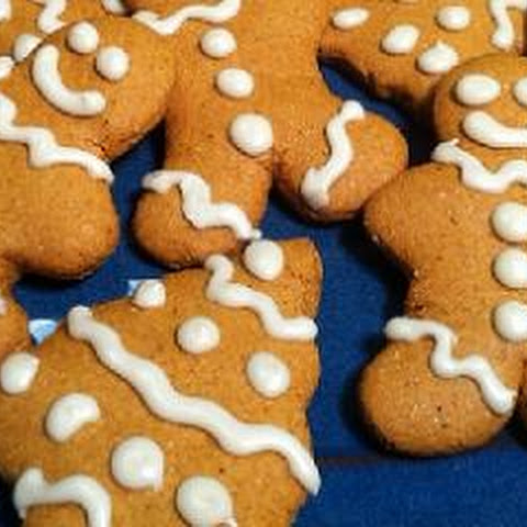 Low-Fat Gingerbread Cookies