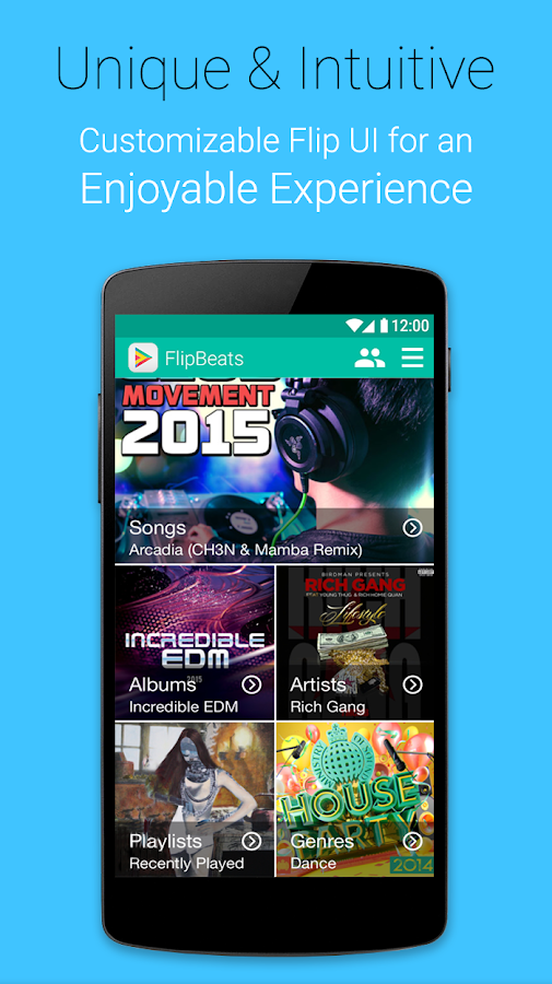 FlipBeats - Best Music Player Screenshot 7
