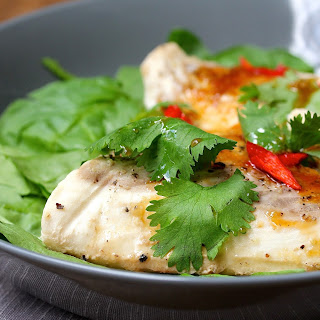 Asian Style Halibut en Papillote