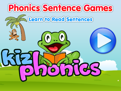 Phonics Sentence Monkey - screenshot