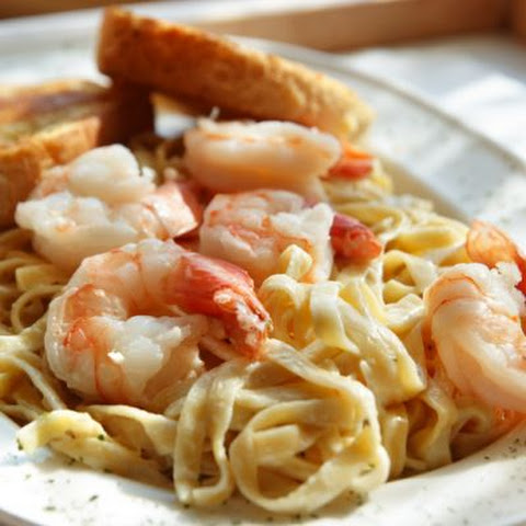 Red Lobster's Shrimp Alfredo