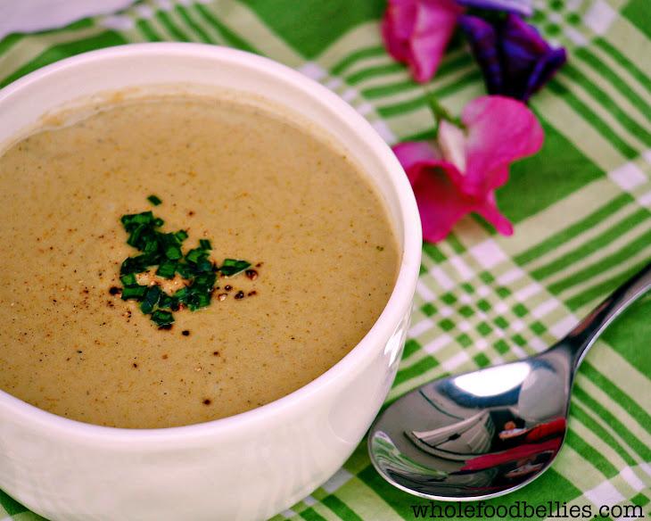 Cream of Broccoli and Pistachio Soup Recipe | Yummly
