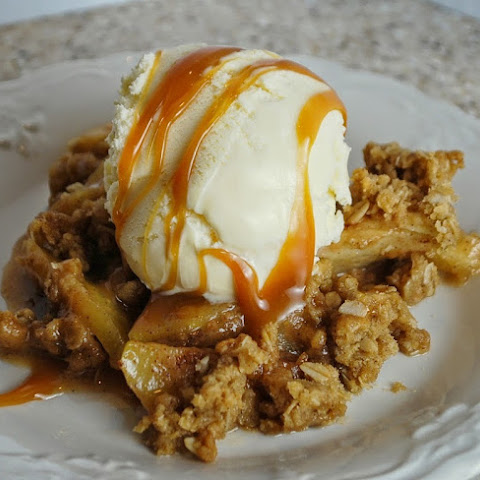 Caramel Apple Crisp (5 Points+)