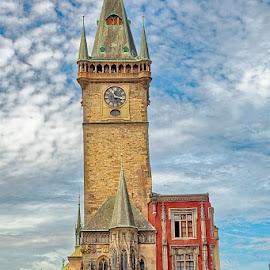 Old Tower by Radu Eftimie - Buildings & Architecture Public & Historical ( tower, prague )