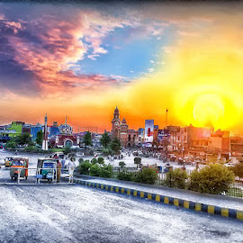 by Abdul Rehman - City,  Street & Park  Vistas