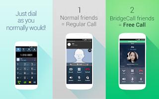 Screenshot of BridgeCall - Free Calls