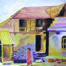 Lonely....... by Satyabrata Paul - Drawing All Drawing