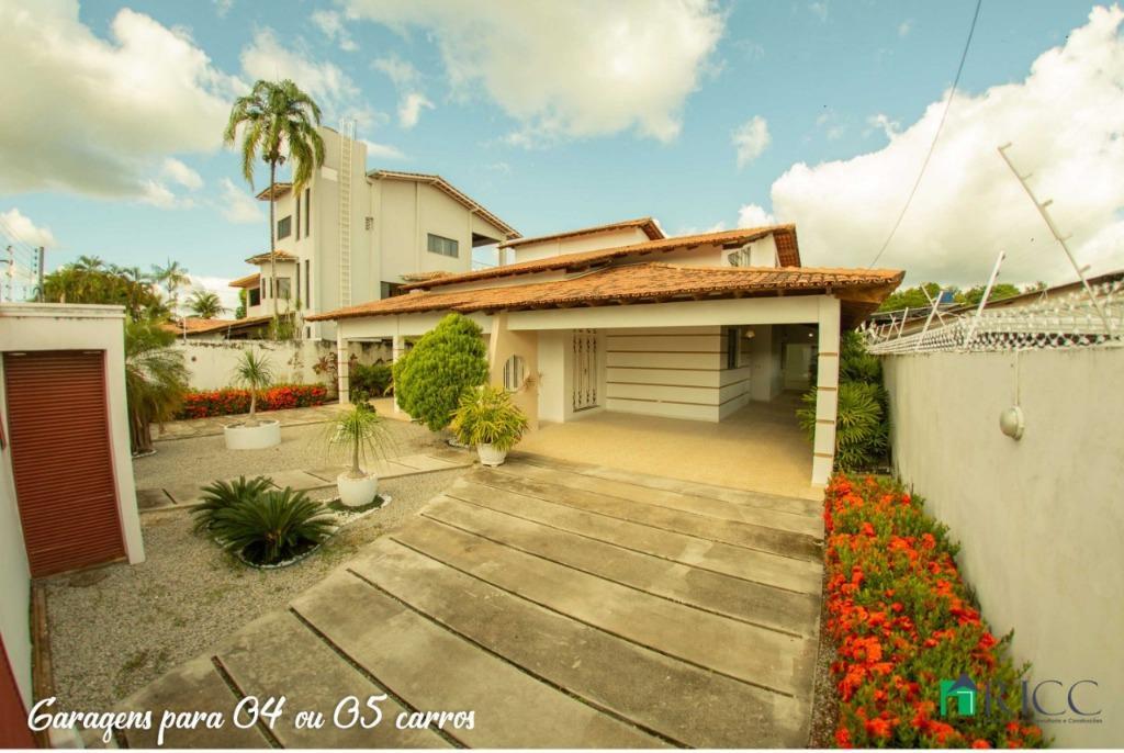 Casa com 4 dormitórios à venda, 487 m² por R$ 980.000,00 - Caçari - Boa Vista/RR