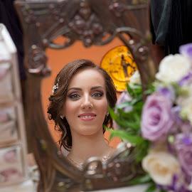 Bride by Eftime Gabriel - Wedding Bride ( queen, woman, wedding, art, bride )