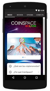 Coinspace Bolivia - screenshot