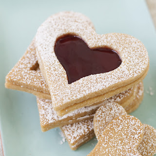 Vanilla Shortbread Hearts