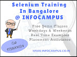 Selenium training in Bangalore with Job Assistance