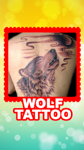 Wolf Tattoo Designs - screenshot