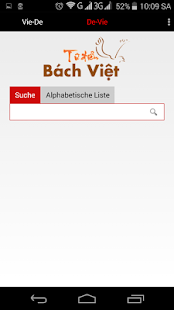BachViet Deutsch Vietnamesisch - screenshot