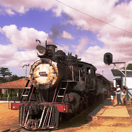 Back in Time by Filippos Petridis - Transportation Trains ( transport, locomotive, trinidad de cuba, trains in cuba, traveller, cuba )