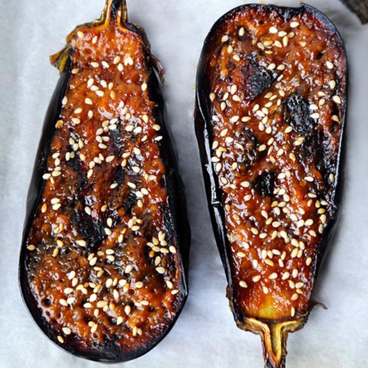 Nasu Dengaku - Miso Glazed Eggplant Recipe | Yummly