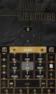 Black Leather Keyboard - screenshot