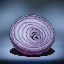 The Beautiful Onion by Keith Reling - Food & Drink Fruits & Vegetables ( onion, purple,  )