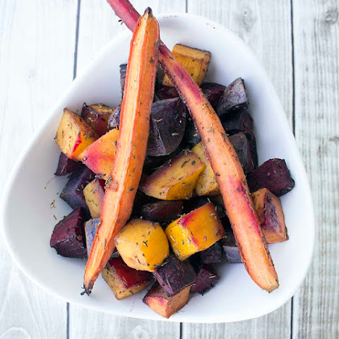Baked Root Vegetables