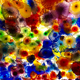 Chihuly Glass at the Bellagio by Lorna Littrell - Artistic Objects Glass ( abstract, chihuly, colors, art, glass,  )