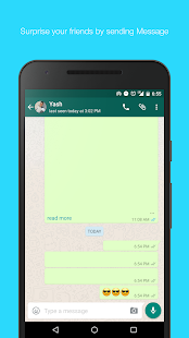 Blank Text for whatsapp Screenshot