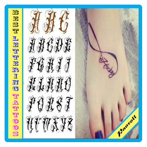 best lettering tattoos
