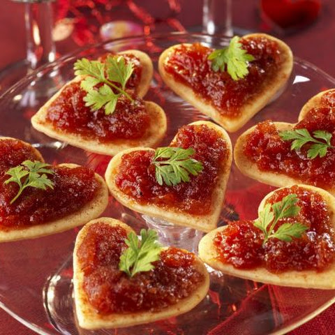 Romantic Savoury Canapes
