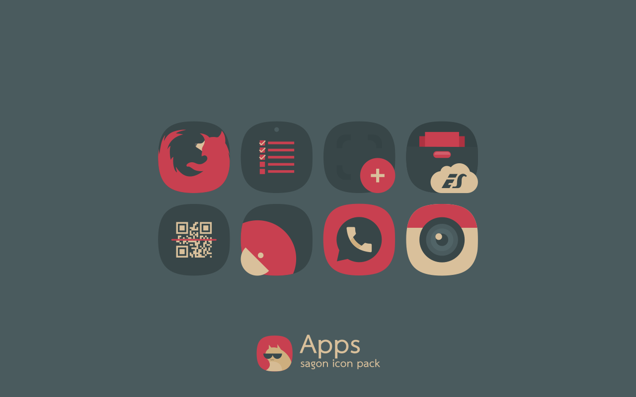 Sagon Icon Pack Screenshot 4