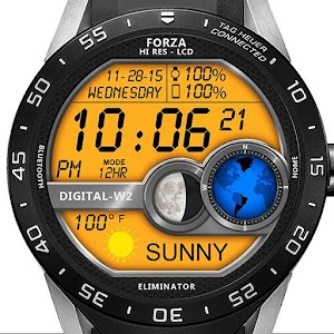 Watch Face W02 Android Wear