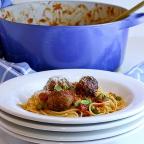 Spagettini With Meatballs