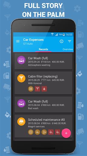 Car Expenses (Manager) - screenshot