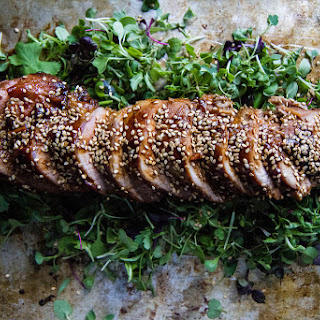 Soy Sesame Maple Pork Tenderloin