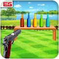 APK Game Bottle Shooting Game 3D Sniper for BB, BlackBerry