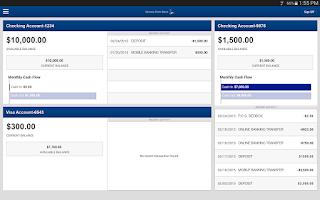 Screenshot of NSBank Mobile Banking