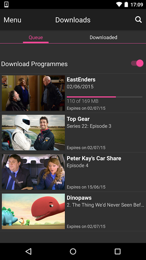 BBC iPlayer Screenshot 6