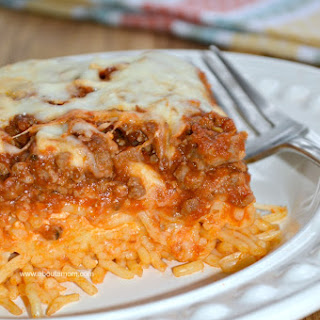 Baked Spaghetti With Egg Noodles Recipes