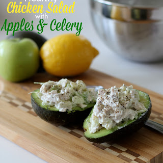 Chicken Salad with Apples and Celery