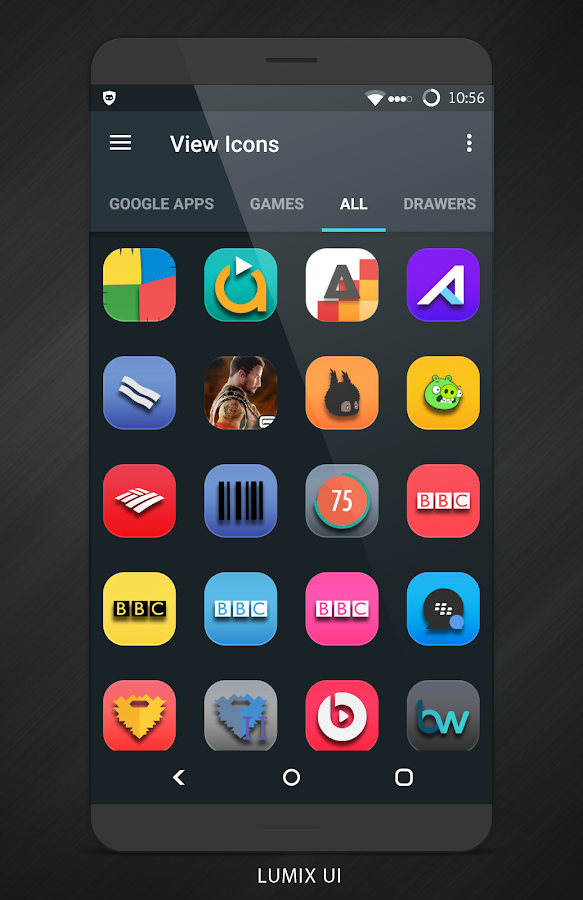 Lumix UI - Icon Pack Screenshot 2