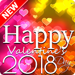 Valentine Greeting Card 2018 Icon