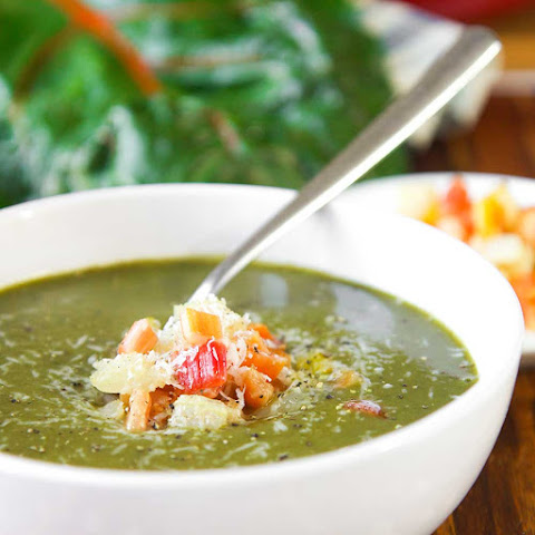 RAINBOW CHARD CREAM SOUP