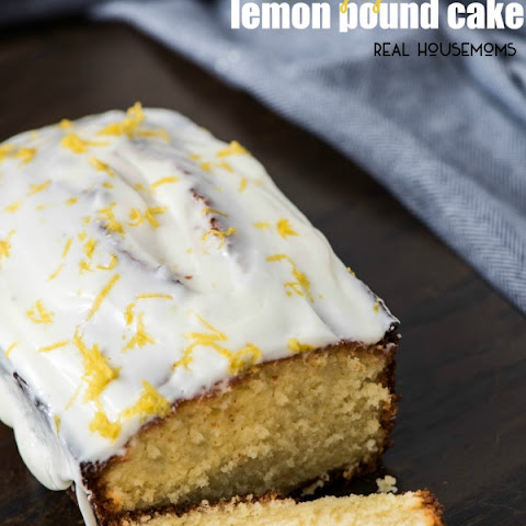 Double Glazed Lemon Pound Cake
